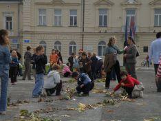 Djeca napravila tok Drave