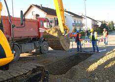Otvoreni radovi na komunalnom opremanju stambene zone Lenišće istok