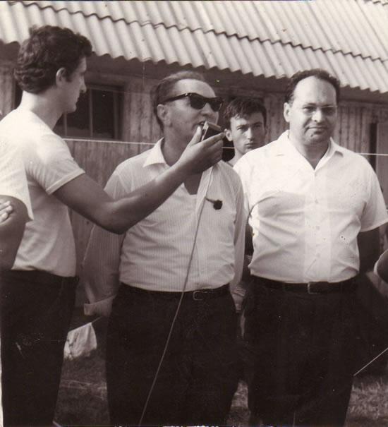 Držanje mikrofona na Šoderici 1963. godine, snimio Vladimir Kuzel
