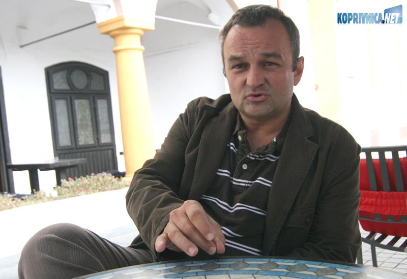 Ravnatelj Obrtničke škole u Koprivnici Ratimir Ljubić. Snimio: Marijan Sušenj
