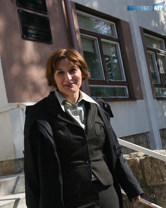 Ana Marija Jelovac bila je šefica računovodstva PG-a u vrijeme davanja sumnjivog kredita. Snimio: Marijan Sušenj