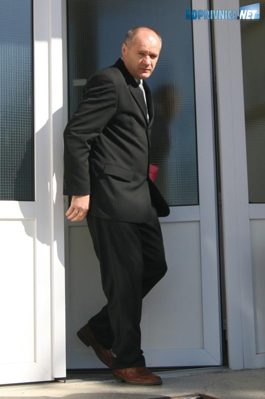 Ivan Međimurec osumnjičen je da je oštetio tvrtku Podravsko gospodarstvo za 190 tisuća kuna. Snimio: Marijan Sušenj