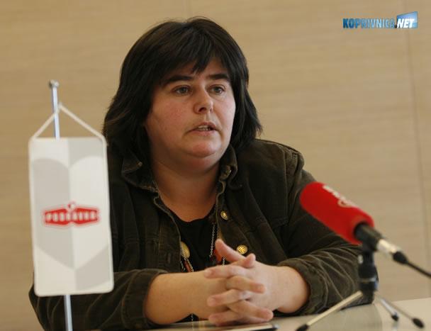 Ksenija Horvat - podpredsjednica NO-a i predsjednica podravkinoga PPDIV-a