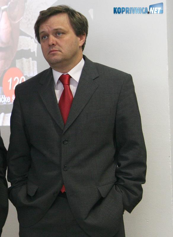 Gradonačelnik Koprivnice Zvonimir Mršić. Snimio: Marijan Sušenj