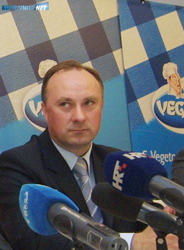 Damir Polančec ima potporu koprivničkog ogranka HDZ-a. Snimio: Marijan Sušenj