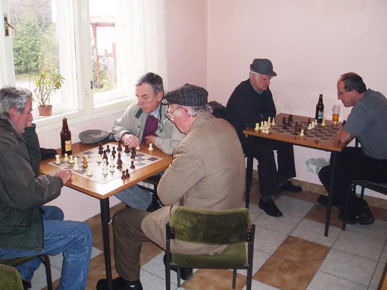 U umirovljeničkim lokalu igra se danas šah