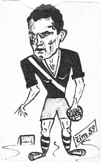 Karikatura Vladimira Ščrbeka 1959. godine
