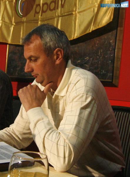 Stanko Pintarić, sindikalni povjerenik PPDIV-a Kalnik. Snimio: Marijan Sušenj
