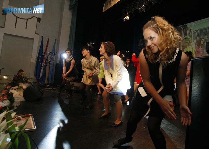 Članice Plesnog studija Jump. Snimio: Marijan Sušenj