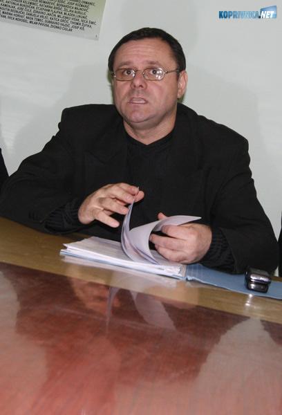 Predsjednik Autohtone hrvatske stranke prava Dražen Keleminec. Snimio: Marijan Sušenj