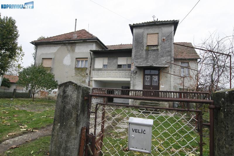 Najstarija kuća u Kloštru Podravskom uskoro bi mogla postati vlasništvo Zagrebačke banke. Snimio: Marijan Sušenj