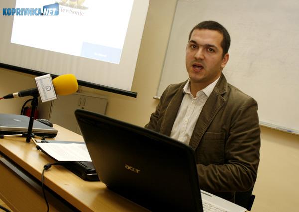 Tihomir Cvetković, direktor Koprivničkog poduzetnika. Snimio: Marijan Sušenj