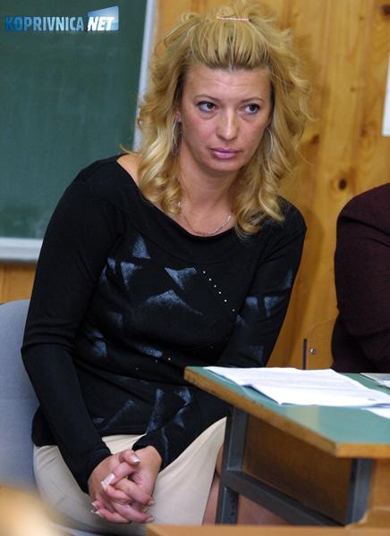 Ravnateljica škole u Glogovcu Karolina Vidović. Snimio: Marijan Sušenj