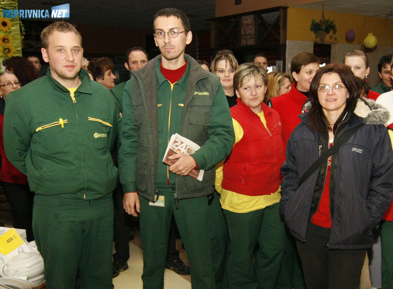 S lijeva: Saša Posavec, Aleksandar Matić i Adriana Kopač. Snimio: Marijan Sušenj