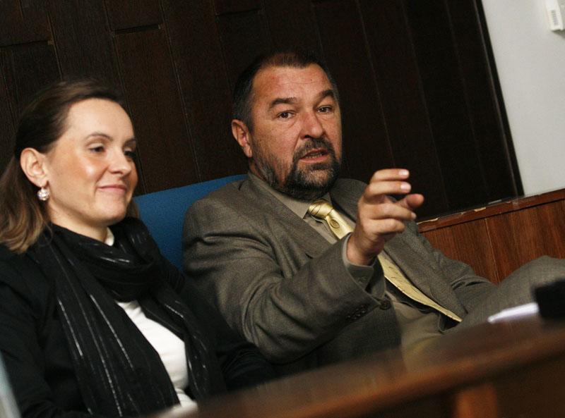 Martina Golčić i Darko Ledinski. Snimio: Marijan Sušenj