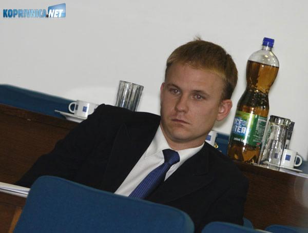 SDP-ov Mišel Jakšić. Snimio: Marijan Sušenj