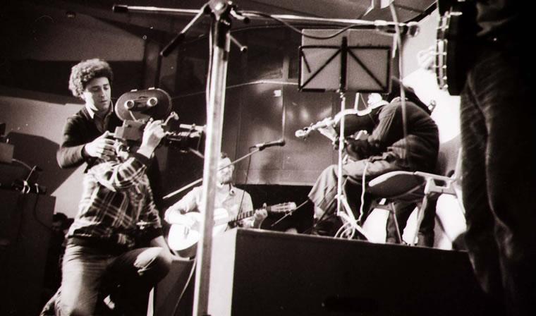 Snimanje filma Petra Krelje Mariška bend; snimio: Vladimir Kostjuk