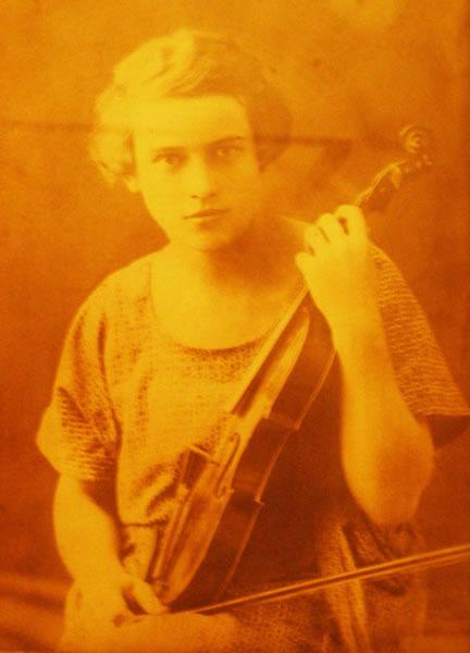 Mlada Mariška na slici u vlasništvu Božice Nemet