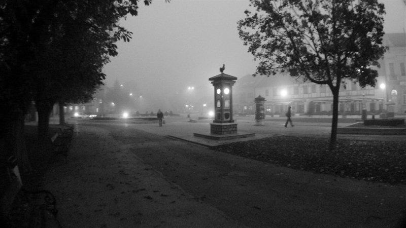 Grad dočekuje jesenju zoru // Snimio: Mario Grobenski