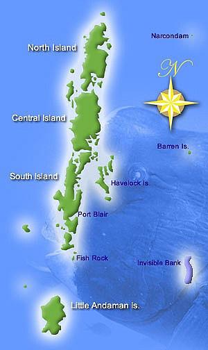 Andamani - najveće otočje Bengalskog zaljeva u Indijskom oceanu