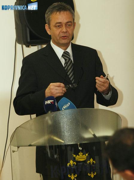 Župan Darko Koren. Snimio: Marijan Sušenj