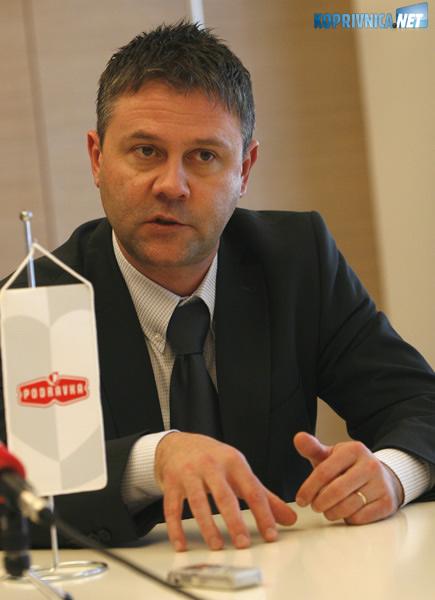 Miroslav Vitković, prvi čovjek Podravkine Uprave. Snimio: Marijan Sušenj