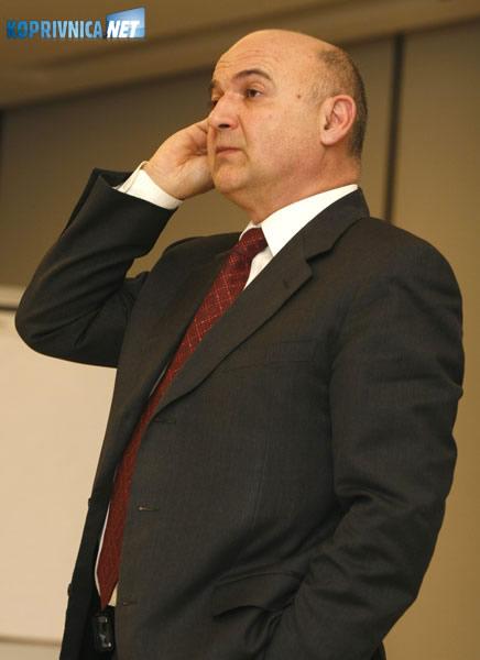 Ljubo Jurčić, predsjednik Podravkinog Nadzornog odbora. Snimio: Marijan Sušenj