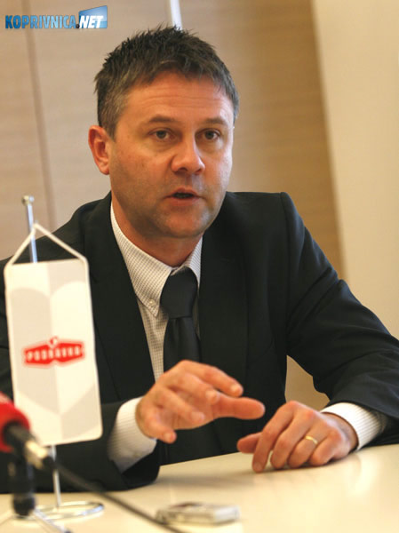 Novi predsjednik Uprave Podravke Miroslav Vitković. Snimio: Marijan Sušenj