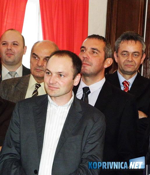 Među uzvanicima bio je i koprivničko-križevački župan Darko Koren (na slici desno)