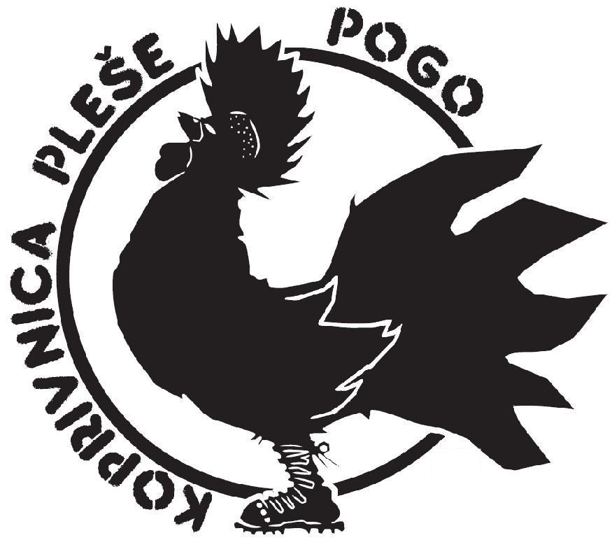 Logotip projekta Koprivnica pleše pogo // Autor: Nikola Dragić