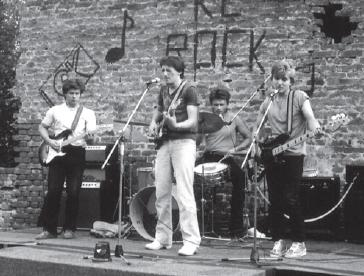 Fakini su bili jedan od istaknutijih gradskih bendova // Snimio: Mladen Jakupec