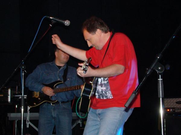 Milivoj Štefanec na KC rock 2008. // Snimio: Matej Perkov