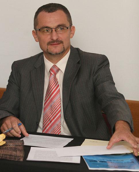 Dražen Laljek, glasnogovornik PU koprivničko-križevačke. Snimio: Marijan Sušenj