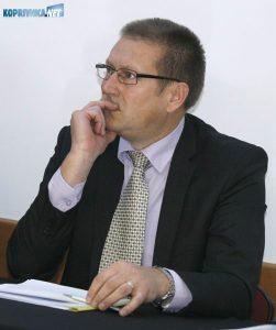Ivan Bračko, načelnik krim policije PU koprivničko-križevačke . Snimio: Marijan Sušenj