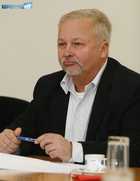 Slobodan Mikac, član Skupštine Agencije i dogradonačelnik Varaždina. Foto: Marijan Sušenj