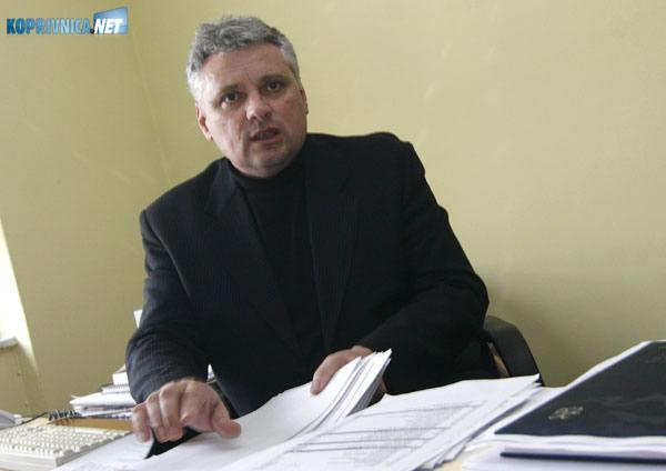 Mladen Antolić, pročelnik za prosvjetu, kulturu, znanost i šport