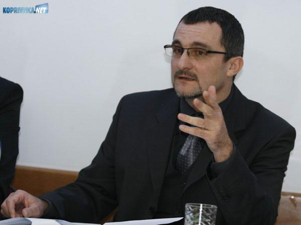 Dražen Laljek, glasnogovornik Policijske uprave koprivničko-križevačke. foto: Marijan Sušenj