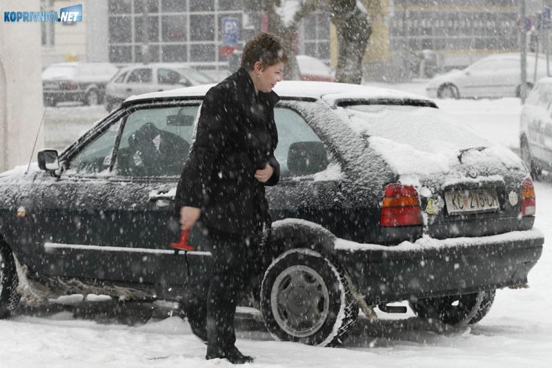 Grad će iz proračuna izdvojiti dodatna sredstva za rad zimske službe. Foto: Marijan Sušenj