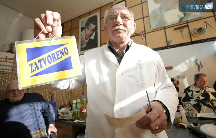 """Brijački salon """"Ivo"""" od sutra zatvoren // foto: Ivan Brkić"""