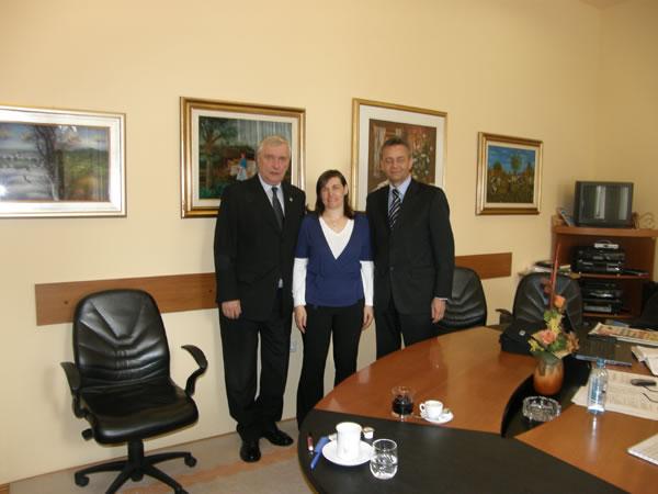 Marijana Premec, predstavnica Udruge Hrvata iz Salzburga u posjetu županiji
