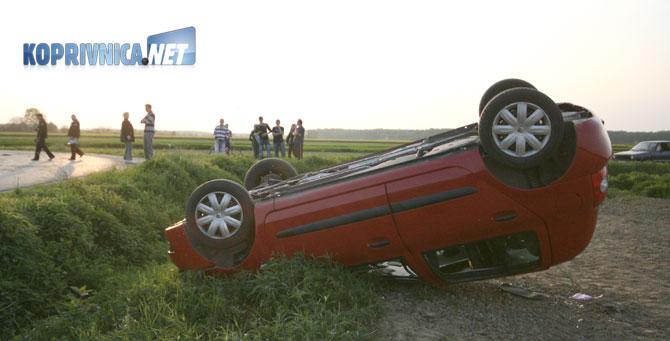 Zbog neprilagođene brzine A.R. sletjela je s ceste; Foto: Ivan Brkić