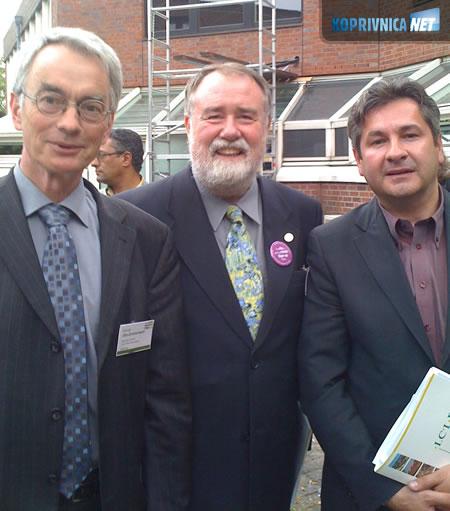 Otto-Zimmermann (Generakni sekretar ICLEI-a), Cadman (Predsjednik ICLEI-a) i Dražen Pros