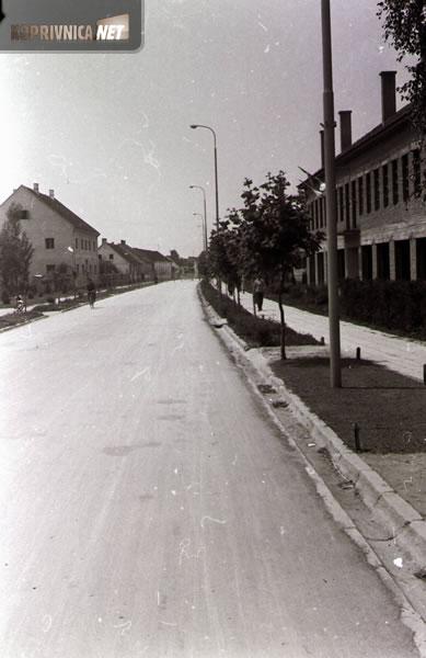 Đurđevačka ulica 1960.