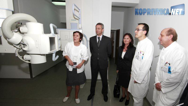 Župan je pogledao novouređene prostore bolnice // foto: Ivan Brkić