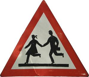 Znak upozorenja (foto: Flickr)