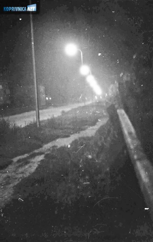 Koprivnica izgubljena u mraku