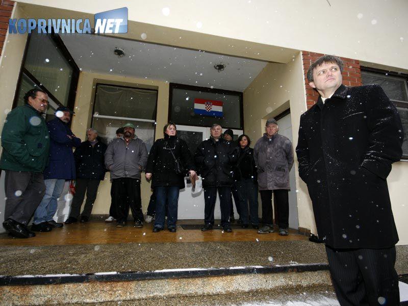 Mršić je rekao da je cilj ove godine zaposliti oko 100 osoba na javnim radovima // foto: Ivan Brkić