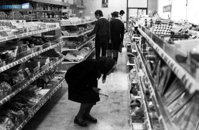 Detalj iz prodavaonice u Sokolovcu '80.