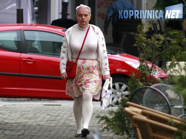 Nova koprivnička dama je šveđanka Sandra koja je došla na odmor u Koprivnicu // foto: Ivan Brkić
