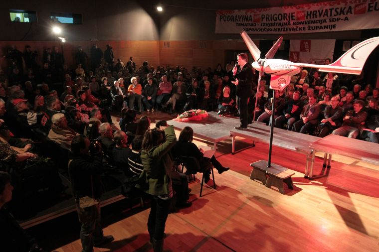 Konvenciji je nazočilo 400-tinjak SDP-ovaca